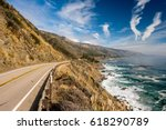 Highway 1 On The Pacific Coast  ...