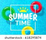 Summer Time Background Design...