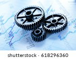 operating budget and three... | Shutterstock . vector #618296360