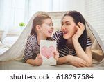 happy mother's day  child... | Shutterstock . vector #618297584