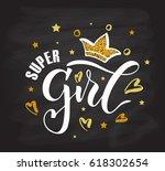 vector illustration of super... | Shutterstock .eps vector #618302654