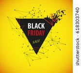 black friday sale. abstract...   Shutterstock .eps vector #618303740