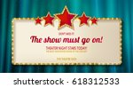 retro frame with five stars and ...   Shutterstock .eps vector #618312533