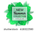new summer collection ... | Shutterstock .eps vector #618322580