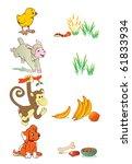 vector illustration  animal...