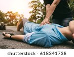 Emergency cpr on a man who has...