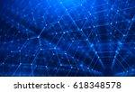 concept of network  internet...   Shutterstock . vector #618348578