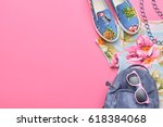 fashion woman clothes... | Shutterstock . vector #618384068
