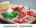italian traditional appetizer | Shutterstock . vector #618404600