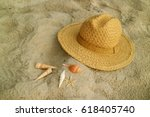 Natural Color Straw Hat With...