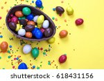Easter Chocolate Egg With...
