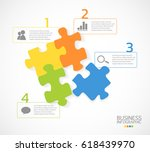 modern business infographic... | Shutterstock .eps vector #618439970
