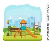concept illustration   kids... | Shutterstock .eps vector #618449720