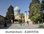 Dome of the Mosque - stock photo