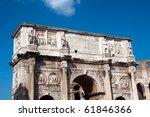 Rome landmarks - stock photo