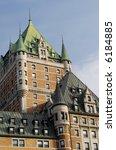Chateau Frontenac - Quebec City - stock photo