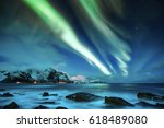 Northern Lights Over The...