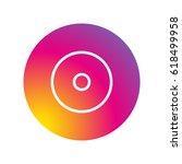 disc cd icon vector...