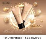 modern vip cosmetic ads  make... | Shutterstock .eps vector #618502919