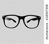 glasses  | Shutterstock . vector #618507308