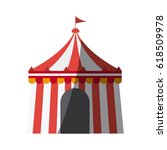 circus tent icon | Shutterstock .eps vector #618509978