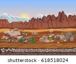 cartoon prairie dry stone...