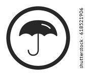 umbrella symbol simple  ...