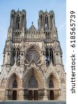 Cathedral Notre Dame In Reims ...