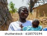 tamberma vil  togo   jan 13 ...   Shutterstock . vector #618570194