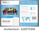 international labor day... | Shutterstock .eps vector #618575300