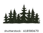 tree outdoor travel black... | Shutterstock .eps vector #618580670
