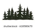 tree outdoor travel black... | Shutterstock .eps vector #618580670