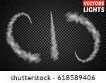 set of vector condensation... | Shutterstock .eps vector #618589406