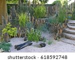 A Relaxing Seaside Garden With...