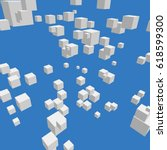 modern vector illustration with ... | Shutterstock .eps vector #618599300