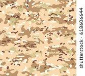 modern desert multicam...   Shutterstock .eps vector #618606644