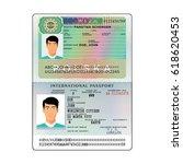 vector international open... | Shutterstock .eps vector #618620453
