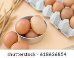 egg  chicken egg | Shutterstock . vector #618636854