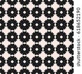 vector seamless pattern. simple ... | Shutterstock .eps vector #618652190