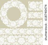 vector set of design elements ...   Shutterstock .eps vector #618740474