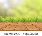 abstract spring or summer with... | Shutterstock . vector #618763283