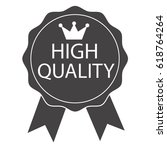high quality icon | Shutterstock .eps vector #618764264