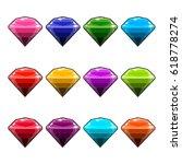 big set of jewels and diamonds...