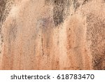 beautiful golden painted... | Shutterstock . vector #618783470