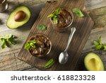 organic healthy homemade...   Shutterstock . vector #618823328