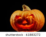 Photo Of Grinning Gourd On A...