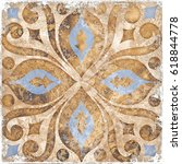 Vintage Italian Tile With...