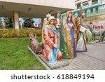 myslenice  poland   april 09 ... | Shutterstock . vector #618849194