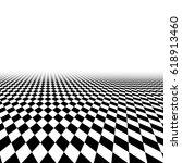 perspective floor chess... | Shutterstock .eps vector #618913460