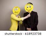 development of emotional... | Shutterstock . vector #618923738
